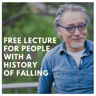 Free Lecture for people with a history of falling
