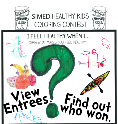 Winners of Healthy Kids coloring contest announced.
