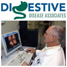 Digestive Disease Associate of North Florida GI doctor reviews imaging